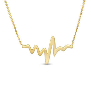 Heartbeat Necklace - Neustaeder's fine jewelry