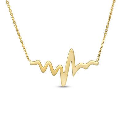 Heartbeat Necklace - Neustaeder's fine jewelry