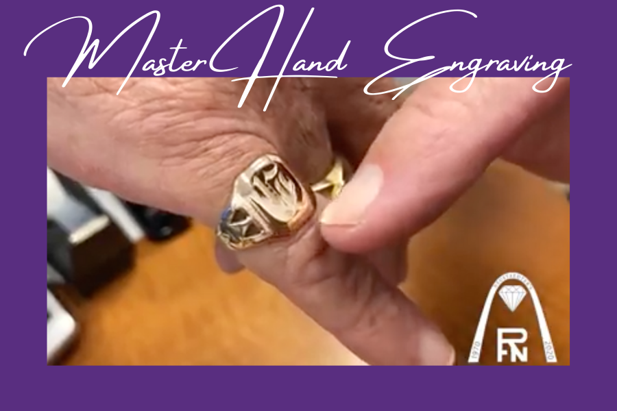 Master Hand Engraving – Grandfather's Signet Ring